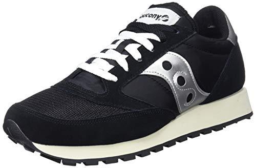 Saucony Jazz Original Vintage, Sneakers Uomo, Black White 10, 38.5 EU
