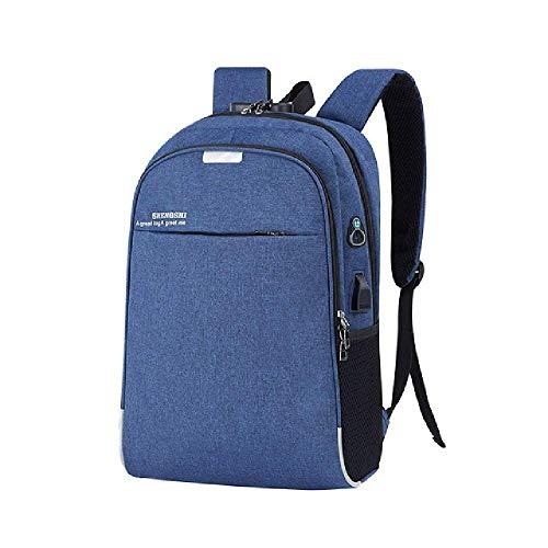 Anti-theft Men Backpacks School Bags for Teenagers Boys Large Capacity 15.6 Inch Laptop Backpack USB Charging Travel Men Bags