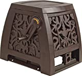 The Ames Companies, Inc 2391375NL NeverLeak Auto-Track Poly Wrought Iron Designer Series Hose Cabinet with 225-Feet Hose Capacity