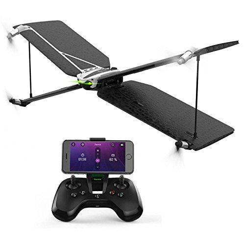 Parrot Drone Swing con FlyPadMotivo aeronuticoCompatibile iOS 7e Android 4.4Sensori IMUFotocamera 3000000PXBatteria