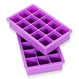 Elbee Home Elbee 613 Coolest 15 Silicone Ice Tray-2-Piece Mold...