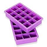 Elbee Home EBH-613 Elbee 613 Coolest 15 Silicone Ice Tray-2-Piece Mold...