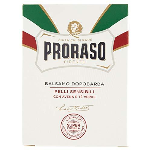 Proraso 400981 Balsamo Dopobarba Bianco Per Pelli Sensibili - 100 Ml
