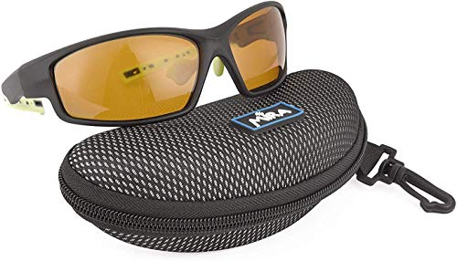 Polarized Sport Cycling Glasses Mira Breeze Y UV400 Sunglasses - Unisex for Men and Women - golf, hiking, riding, running, racing, biking - Strong, Durable, Lightweight, and Scratch Resistant
