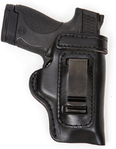 The Holster Store for Glock 42 Gun Holster Pro Carry HD IWB CCW Leather Holster Black