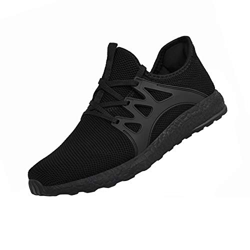 QANSI Men's Sneakers Non-Slip Work Shoes