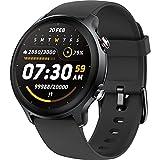 LIFEBEE Smartwatch, Fitness Armbanduhr mit Pulsuhr Blutsauerstoff (SpO2) Druckmessung Fitness Tracker, 5ATM Wasserdicht Smart Watch, 1.28 Zoll Voller Touch Screen Sportuhr für Damen Herren