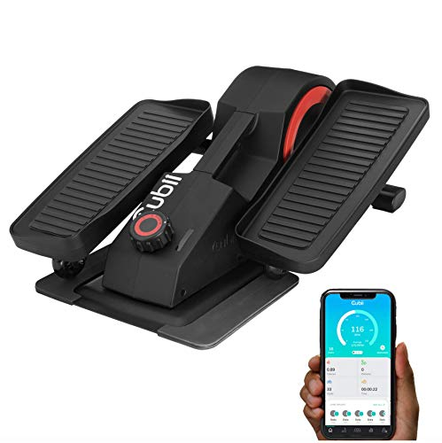 Cubii Pro Seated Under Desk Elliptical Machine for Home Workout, Pedal Bike Cycle Motion, Bluetooth sync Fitbit &...