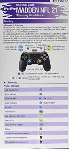 Madden NFL 21 - Unofficial Guide: Die komplette Spielsteuerung groß auf einen Blick! Für PS4