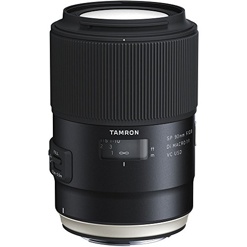 Tamron SP 90mm F/2.8 Di VC USD 1:1 Macro Lens for...