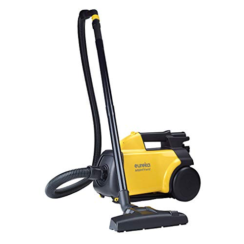 Eureka Mighty Mite 3670G Corded Canister Vacuum Cleaner, Yellow, Pet,...