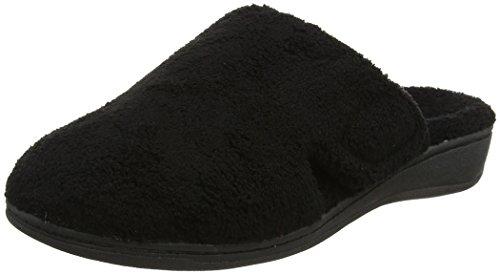 Orthaheel Gemma Orthotic Slipper Black, 8