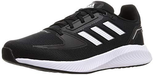 adidas Runfalcon 2.0, Sneaker Mujer, Negro Blanco, 37 1/3 EU