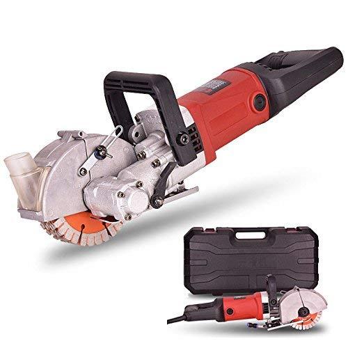 Wall Groove Cutting Machine 220V 4500W Wall Chaser Machine Vacuum...