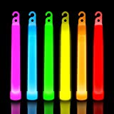 30 Ultra Bright Glow Sticks - Emergency Light Sticks for Camping Accessories, Parties, Hurricane...