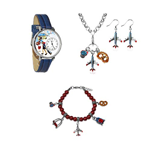 Whimsical Gifts Profession Jewelry Sets (Flight Attendant,...