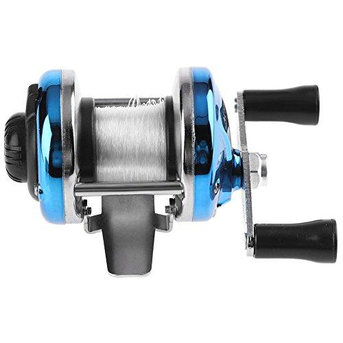 Starnearby STAR Earby Mulinello spinnrollen 3.0: 1in metallo esca Casting Spinning Mulinello Boot ghiaccio pesca ruota blu