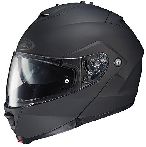 HJC 980-613 IS-MAX II Modular Motorcycle Helmet (Matte Black, Medium)