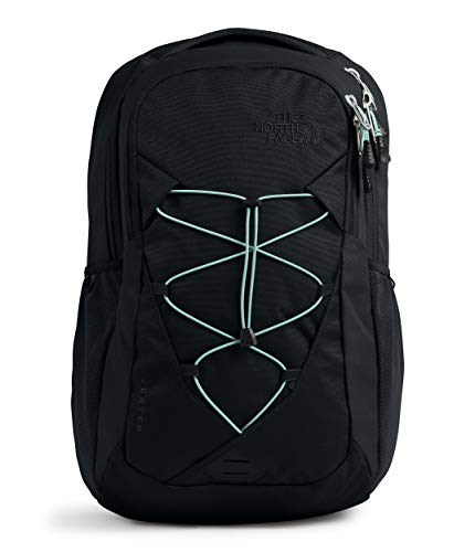 The North Face Women's Jester Backpack, TNF Black/Windmill Blue, One Size
