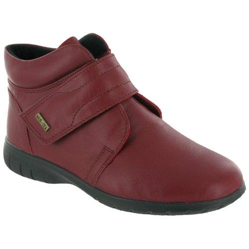 Cotswold Chalford - Stivaletti in Pelle - Donna (42 EUR) (Rosso)