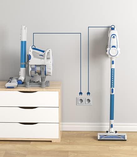 ORFELD Cordless Vacuum Cleaner with 1.4L Big Dustbin, Unique-Design Storage Base Hardwood Floor Vacuum, Cordless Stick Vacuum for Pet Hair 13