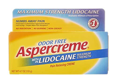 Aspercreme with Lidocaine Maximum Strength Pain...