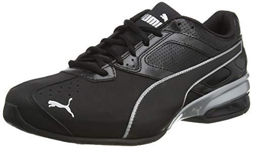 Puma Herren Tazon 6 FM Sneaker, Schwarz Black Silver, 42 EU