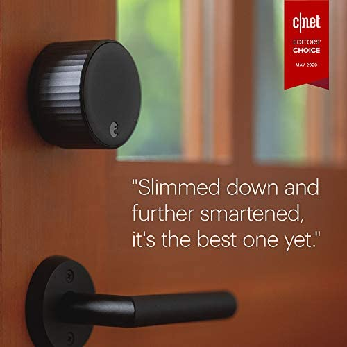 August Wi-Fi, (4th Generation) Smart Lock – Fits Your Existing Deadbolt in Minutes, Matte Black 22
