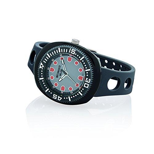 Watchmaker Milano Sub Orologio Uomo da Polso Submariner Vintage a Quarzo Anni 70 (Grigio e Nero)