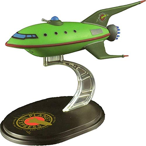 LootCrate July 2016 Futurama Planet Express Ship Model Q-Fig from QMX by QMX Mini Masters Vehicles (Juguete)