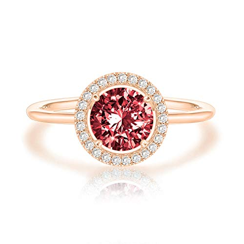 Swarovski Crystal 14K White Gold Plated Birthstone Rings |...