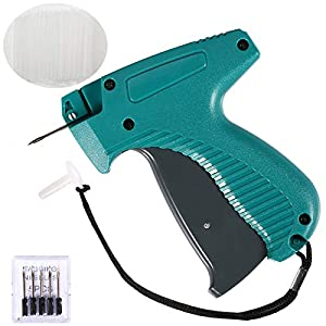 【Durable】Durable hard plastic BS ONE clothing tagger gun with standard size stainless steel needles - Under the correct operation, our clothes tagging gun still work well even though after thousands of times use. 【Easy To Use】The load of attachments ...