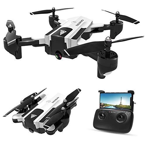 Goolsky SG900-S GPS Drone RC con Telecamera 1080P WiFi FPV Follow Me modalit Surround Multi-Point Fly Altitude Hold Pieghevole RC Quadcopter 20 Minuti