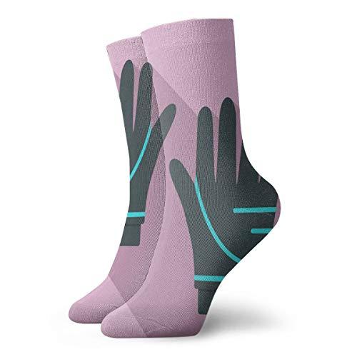 xinfub Taucherhandschuhe Icon Flat Style Spaß und interessante Socken cm /.Zoll