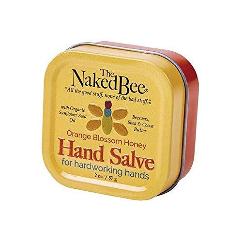 The Naked Bee Hand & Cuticle Healing Salve (1.5 oz/Sunflower, Beeswax & Shea Butter)