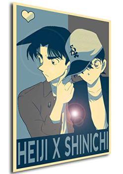 Instabuy Poster - Propaganda Yaoi - Detective Conan - Heiji x Shinichi A3 42x30