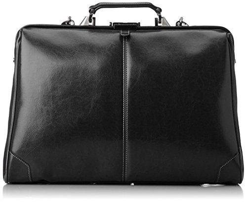 [エバウィン] 【日本製】ビジネスバッグ 3WAY B4サイズ収納可 横型Lサイズ 21592 ブラック One Size