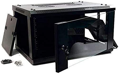 powergreen RAS-06328-ST Armadio Rack 10', 6U 31 x 28 x 37