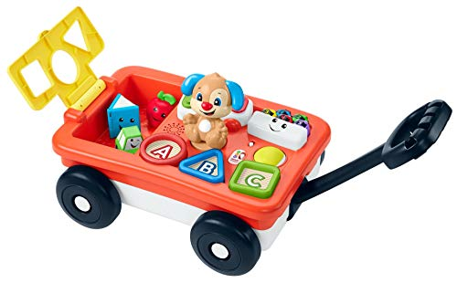 Fisher-Price Laugh & Learn Pull & Play Learning Wagon,...