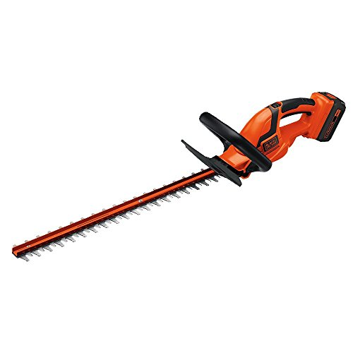 BLACK+DECKER 40V MAX Cordless Hedge Trimmer, 24-Inch (LHT2436)