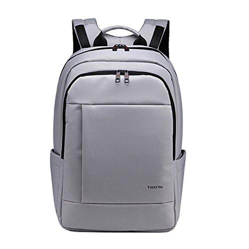 KOPACK Laptop Backpack Slim Business Travel Backpack Bag Pack 17 16 inch Grey Computer Daypack Deluxe Water Resistant KP516