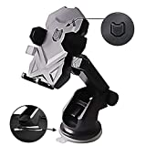 Phone Holder for Car, MANORDS Universal Long Neck Car Mount Holder Compatible iPhone Xs XS Max XR X 8 8 Plus 7 7 Plus Samsung Galaxy S10 S9 S8 S7 S6 LG Nexus Sony and More(Black)