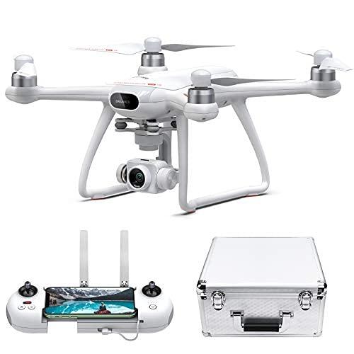 Potensic Dreamer Pro GPS Drone, Drone Gimbal a 3 Assi, Drone con Telecamera, Quadricottero RC con Motore Brushless, Droni con Video HD 4K, Drone Professionale con 28 Min di Volo, Trasmissione FPV 2km