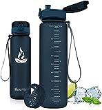 Baomay Gourde Sport sans BPA, Anti-Fuite Bouteille d'eau avec Filtre - 350ml/500ml/750ml/1L,...