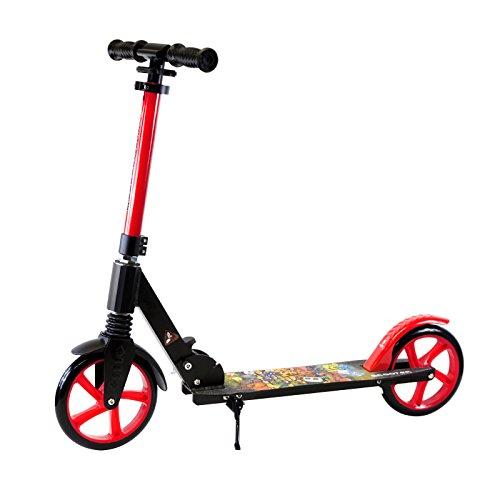 Teen/Adult Black Kick Scooter Portable...