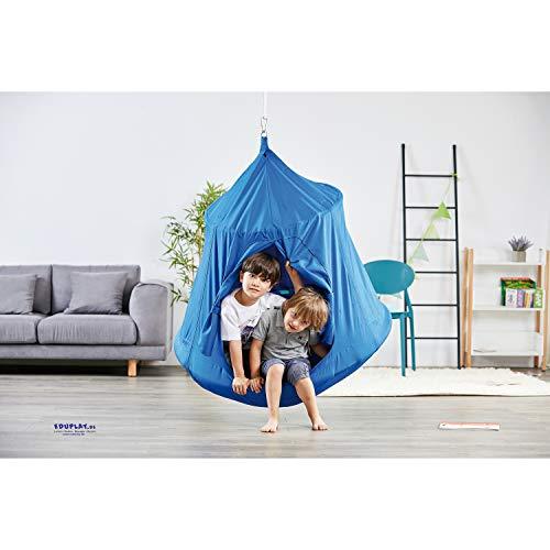 EDUPLAY 170392 Hängezelt 120 cm, 110 cm hoch (1 Stück)