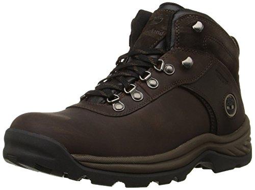 Timberland Men's Flume Waterproof Boot,Dark Brown,14 W US