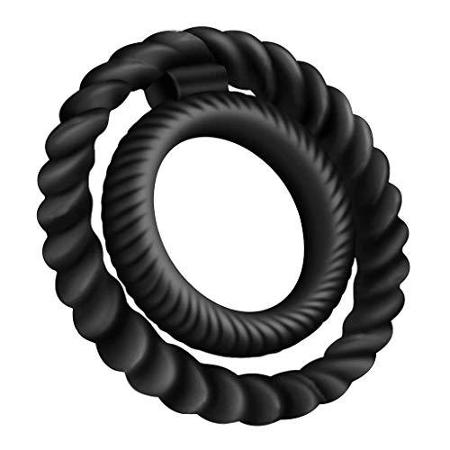 Silicone Male Cook Ring, Silikon-Lock-Fein-Ring Penis-ring Bondage Schwanz Restraint Doppelte Ringe