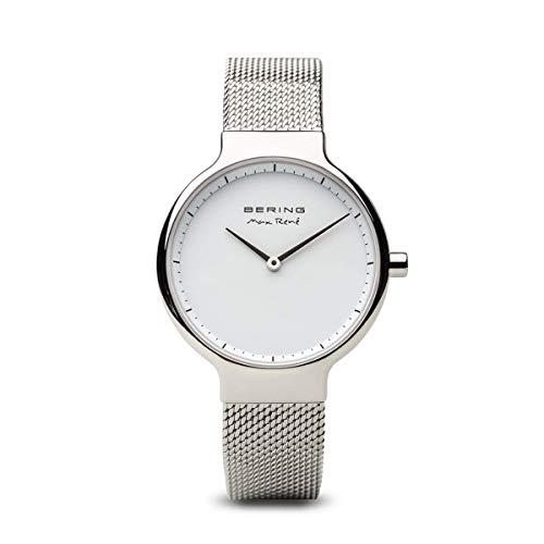 BERING Damen-Armbanduhr Analog Quarz Edelstahl 15531-004