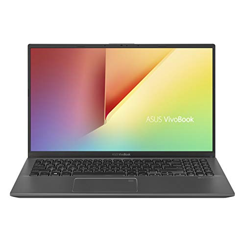 "ASUS VivoBook 15 Thin and Light Laptop, 15.6"" FHD, Intel Core i3-8145U CPU, 8GB RAM, 128GB SSD, Windows 10 in S Mode, F512FA-AB34, Slate Gray"